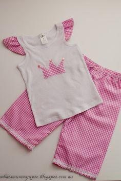 Idea para hacer un pijama..