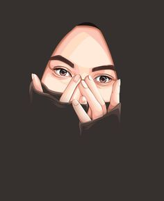 Drawing Cartoon Girl Pictures 37 Ideas For 2019 Art And Illustration, Girl Cartoon, Cartoon Art, Cartoon Drawings, Cute Drawings, Cartoon Illustrations, Hijab Drawing, Islamic Cartoon, Hijab Cartoon