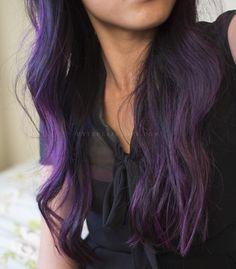 dark purple ombre hair - Google Search