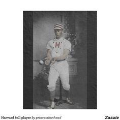 Harvard ball player
