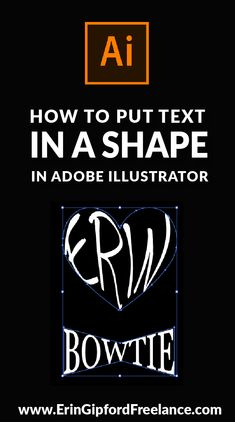 In this Illustrator Tutorial I will show you how to combine a line of text and a shape so that the text takes on the form of whatever shape you choose by using the Envelope Distort Tool I have added the basic text instructions below the video. Web Design Trends, Freelance Graphic Design, Graphic Design Tutorials, Graphic Design Inspiration, Style Inspiration, Adobe Illustrator Tutorials, Photoshop Illustrator, Illustrator Basics, Gfx Design