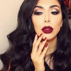 @gerardcosmetics lipsticks in Fire Engine + Cherry Cordial