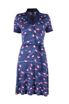 Dress happy camper/adria in blue