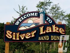 Welcome To Silver Lake Sand Dunes Sign. One of my favorite places to be! Michigan Travel, State Of Michigan, Michigan Colors, Silver Lake Michigan, Grand Rapids Michigan, Ludington Michigan, Silver Lake Sand Dunes, The Mitten State, Lake Signs