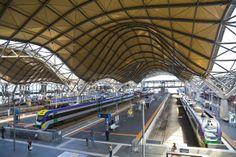 Estación de Southern Cross, Melbourne, Australia