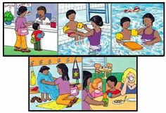 Foto: Sequencing Pictures, Sequencing Cards, Story Sequencing, Aphasia Therapy, Speech Therapy, Eal Resources, English Story, Speech Activities, Picture Story
