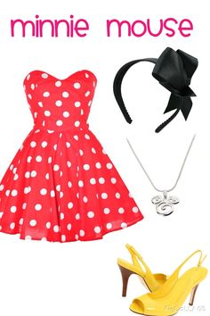 A fashion look from January 2013 featuring polka dot dress, high heel shoes and man bag. Browse and shop related looks. Disney Outfits, Color Pop, Summer Dresses, Stuff To Buy, Shopping, Collection, Colors, Polyvore, Design