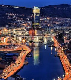 I love Bilbao Spain.this city has come so far over the last 20 years. Places To Travel, Places To See, Places Around The World, Around The Worlds, Semester At Sea, Places In Spain, Biarritz, Basque Country, World Cities