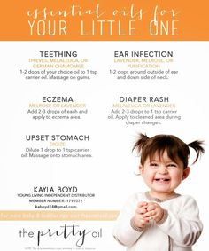 The Boyds: Essential Oils for Babies