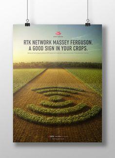 Massey Ferguson - RTK Network by Juliano Weide, via Behance
