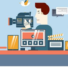 What video marketing can do with your business? Video marketing is the hottest new trend. Marketing Automation, Inbound Marketing, Content Marketing Strategy, Influencer Marketing, Marketing Digital, Marketing Branding, Marketing Ideas, Images Gif, Business Video