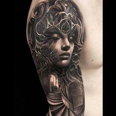 #tattoo #tattoos #tattoodesign #woman #female