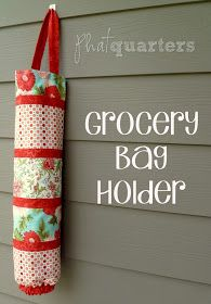 Phat Quarters Blog: Grocery Bag Holder