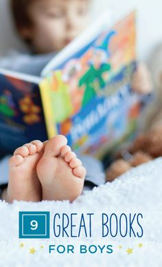 Getting your active boy to slow down before bedtime is no easy task. However, these 9 books for boys could be a great option. Check out this list to find the perfect book for you and your child to read together as he gets ready for bed. If your child frequently wets the bed, be sure to have him put on his GoodNites Bedtime Pants before picking out a book to read. The comfortable, stretchy material will help keep him dry in case of any nighttime accidents.