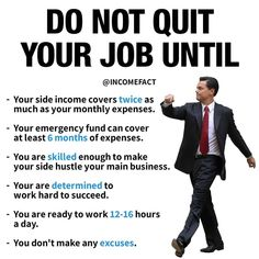 Financial Tips, Financial Literacy, Business Planning, Business Tips, Now Quotes, Quitting Your Job, Budgeting Money, Self Improvement Tips, Investing Money