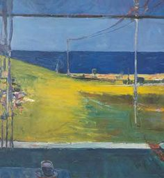 Richard Diebenkorn,  Horizon-Ocean View Fine Art Reproduction Oil Painting