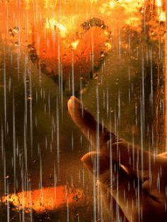 Love shines through the darkest days. #autumnrain