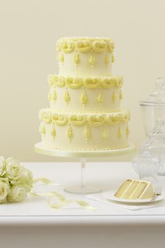Peggy Porschen Patisserie Cake Collection; Siciliana. I like the detailing