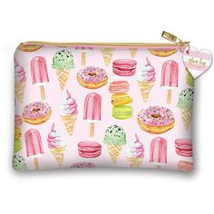 Lady Jayne Ltd. Sweet Treats Cosmetic Bag ($7.99) ❤ liked on Polyvore featuring beauty products, beauty accessories, bags & cases, travel bag, travel toiletry case, toiletry kits, purse makeup bag and make up bag