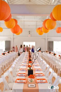 Orange Wedding Ideas Www Picturesso Com