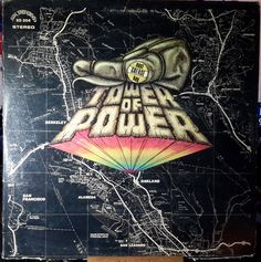 Tower Of Power East Bay Grease San Francisco Records SD 204 Vinyl Stereo Lps, Tower Of Power, Classic Album Covers, East Bay, Music Albums, Tower Records, My Favorite Music, Grease, Cover Art