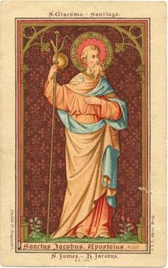 Patron saint for sufferers of arthritis and rheumatism.  Apostle