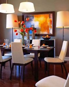 Adorable Dining Room Furniture With Nice Overhead Lighting And Gorgeous  From Http://homedecorremodeling