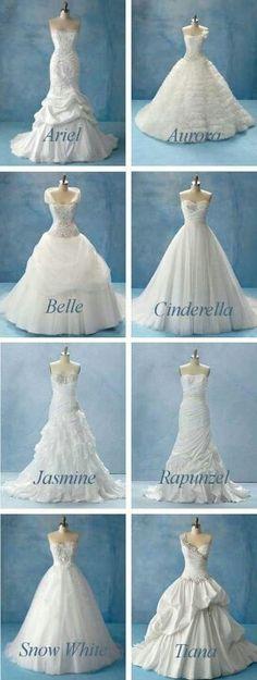 Alfred Angelo Disney Wedding Dresses — So Beautiful!