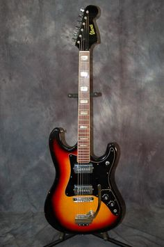 Today, Lawman Guitars is Presenting...  A beautiful 1969 made in Japan IbanezModel 2020 Electric Guitar. This guitar is all original and it plays and sounds great!These earlier Ibanez guitars are really cool and getting rare. Give us a call. Lawman Guitars. 515-864-6136