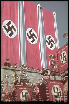 Nazism, commonly known as National Socialism (German: Nationalsozialismus), refers primarily to the ideology and practices of the Nazi Party under Adolf Hitler; Nagasaki, Hiroshima, Fukushima, Nuremberg Rally, History Of Germany, Nazi Propaganda, Germany Ww2, The Third Reich, German Army
