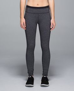 Speed Tight II - giant herringbone black heathered black/black