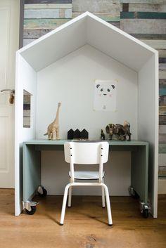 Mini hus i børneværelset -