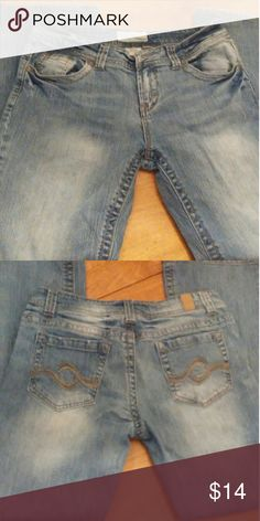 Distressed Maurice's Jeans Great fit distressed jeans by Maurice.   Sz. 9/10 Short Maurices Jeans Boot Cut