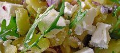 Dit is een doodsimpele, maar oh zo lekkere koude salade die het prima doet bij de barbecue en buiten eten. Een ideale salade met alles aan goede...