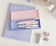 aesthetic pastel stationery cute kawaii school supplies bullet journal spread bujo layout soft notes art planner ✧∘˚˳° Stationary Supplies, Stationary School, Cute Stationary, Lavender Aesthetic, Purple Aesthetic, Study Inspiration, Journal Inspiration, We All Mad Here, Cool School Supplies