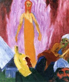 The Resurrection (The Life of Christ) - Emil Nolde - The Athenaeum