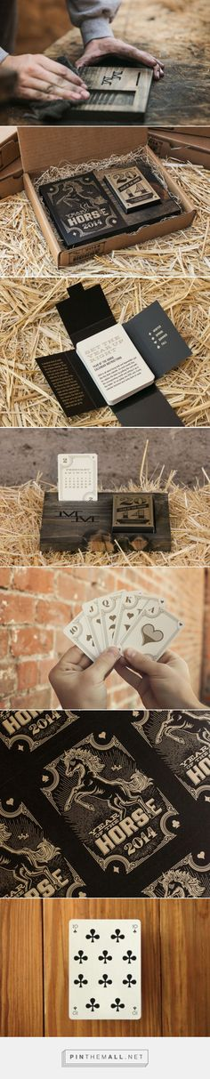 MM Identity Lab: Year of the Horse Card Deck Calendar | Design Work Life - created via http://pinthemall.net