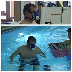 Oxygen uptake of walking in water