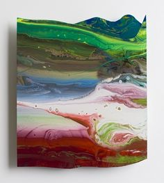 Gerhard Richter : ABDALLAH (917-32), 2010, lacquer behind glass, 33 x 33 cm (frame size) | Sumally