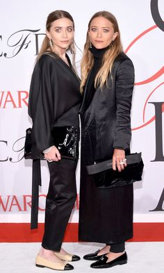 Mary-Kate and Ashely Olsen Attend The 2015 CFDA Awards