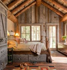 Rustic Bedroom Furniture | The Best 9 Rustic Bedroom Design Ideas | Home Design and Furniture