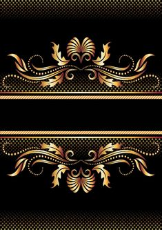 free vector Gold pattern vector