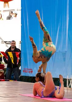 Mongolian acrobats