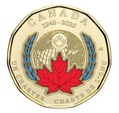 Canadian Coins, Canadian History, Collector Cards, Commemorative Coins, Remembrance Day, World Peace, United Nations, Worlds Of Fun, Anniversary