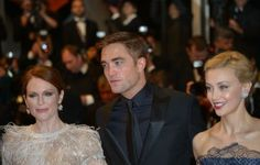 Julianne Moore, Rob, and Sarah Gadon at the Map to the Stars premiere at Cannes, 5-19-14 (3)