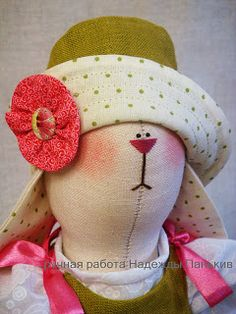 Different type of tilda hat and pattern.