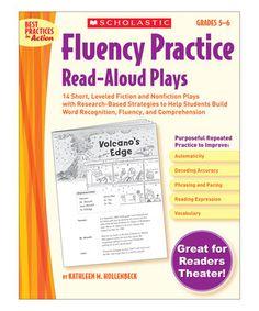 Grades 5-6 Fluency Practice Read-Aloud Plays Workbook