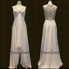 Elegant high-low chiffon Prom Dresses / Evening Dress
