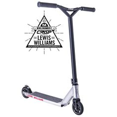 Time to step up your game! Replicating the preferred specifications of ISA Lewis Williams, this scooter is all you need if you want to ride at a world class level. Pro Stunt Scooters, Stunts, Skateboard, Competition, Crisp, Game, Shop, Black, Ideas