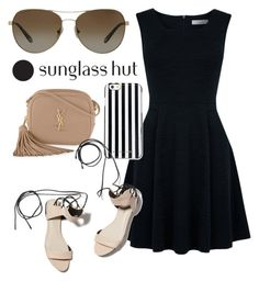 """Shades of You: Sunglass Hut Contest Entry"" by design-by-c ❤ liked on Polyvore featuring Tiffany & Co., Oasis, MICHAEL Michael Kors, Yves Saint Laurent, 3.1 Phillip Lim and shadesofyou"